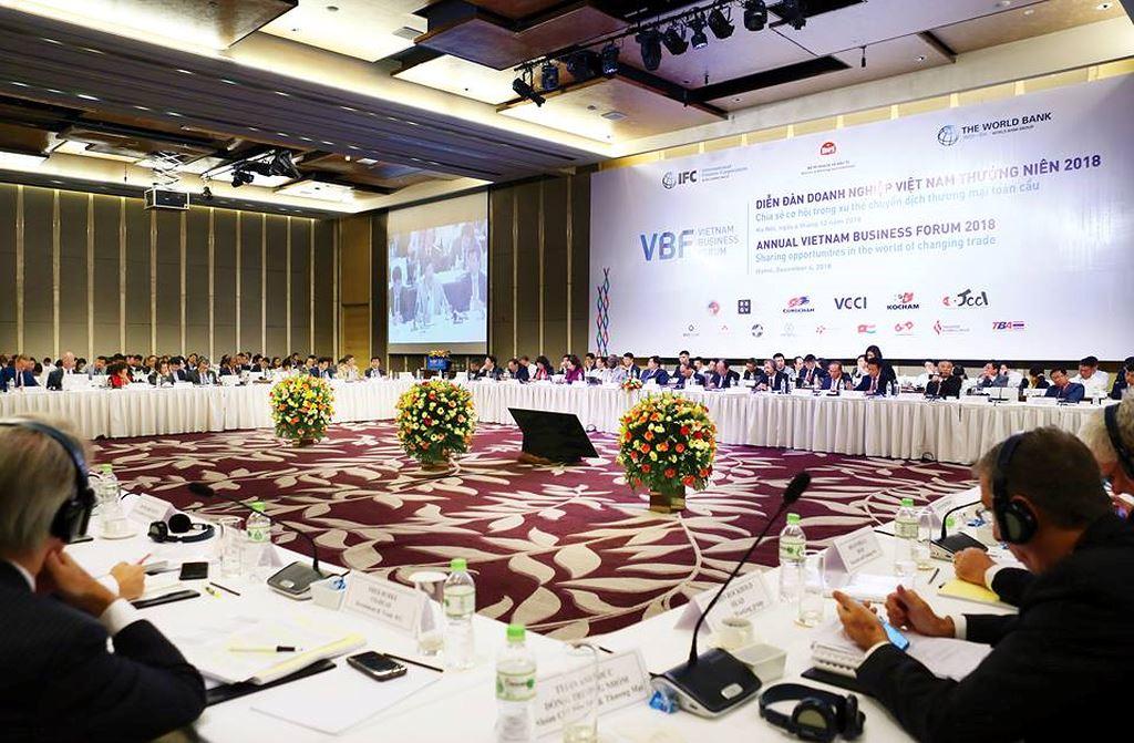 Diễn đàn doanh nghiệp Việt Nam thường niên năm 2018