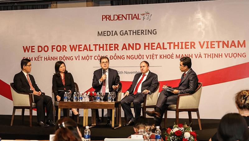 """Prudential cam kết """"Hành động vì một cộng đồng người Việt khỏe mạnh và thịnh vượng"""""""