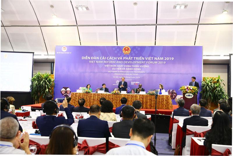 Diễn đàn thường niên lần thứ hai về Cải cách và Phát triển Việt Nam 2019