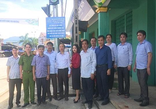 Khánh thành đèn tín hiệu giao thông tại huyện Lang Chánh, tỉnh Thanh Hóa