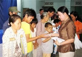 Phạm vi, đối tượng được hỗ trợ nhân đạo và các đơn vị có trách nhiệm tiếp nhận, giải quyết hồ sơ hỗ trợ nhân đạo