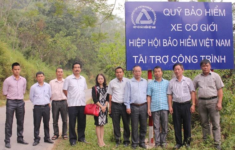Quỹ bảo hiểm xe cơ giới khảo sát công trình tại 6 tỉnh Bắc Kạn, Bắc Ninh, Phú Thọ, Sơn La, Nghệ An, Hưng Yên