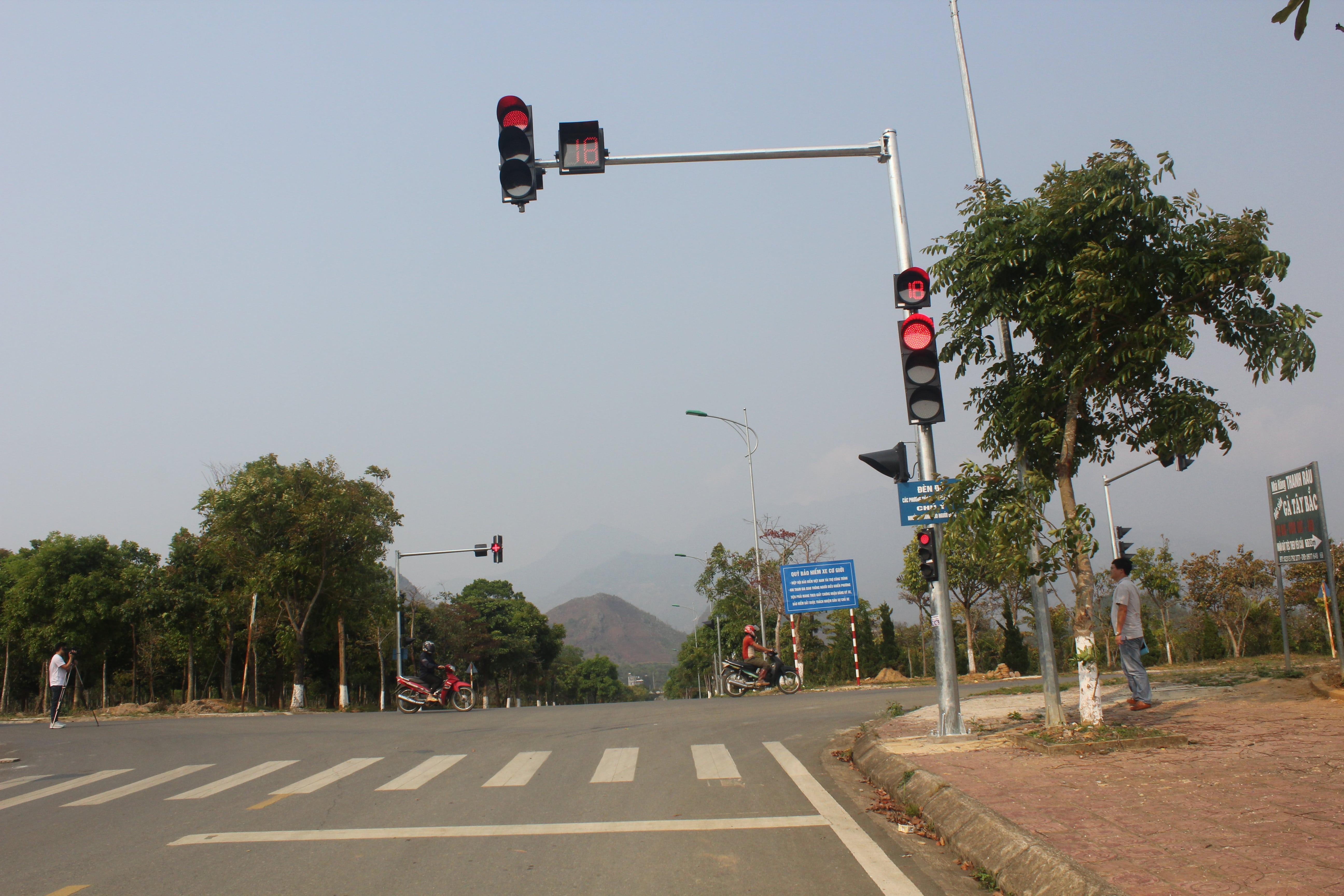 Quỹ bảo hiểm xe cơ giới đóng góp tài trợ công trình đề phòng hạn chế tổn thất giao thông tại Thành phố Lai Châu