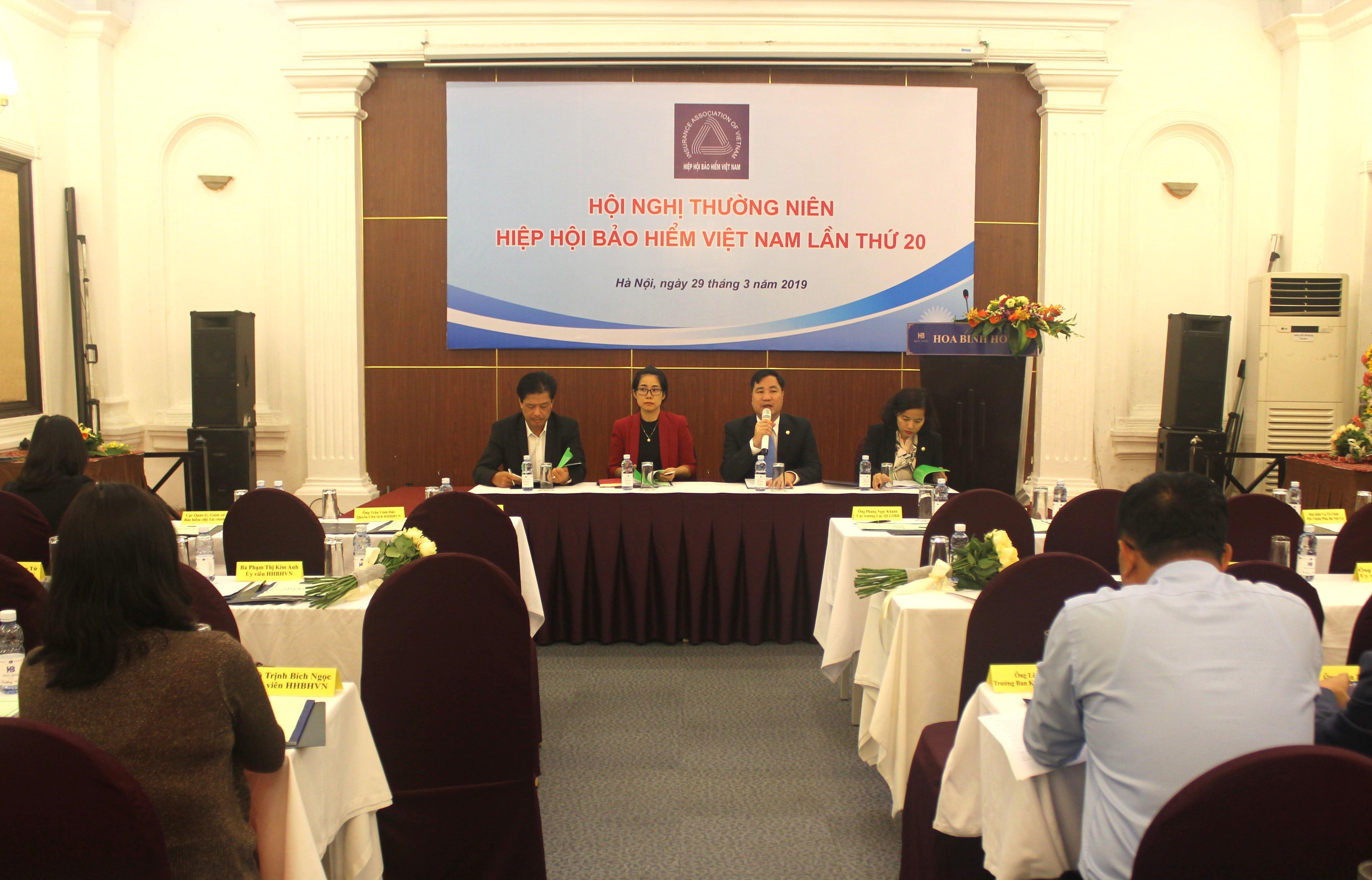 Hội nghị Thường niên Hiệp hội Bảo hiểm Việt Nam năm 2019
