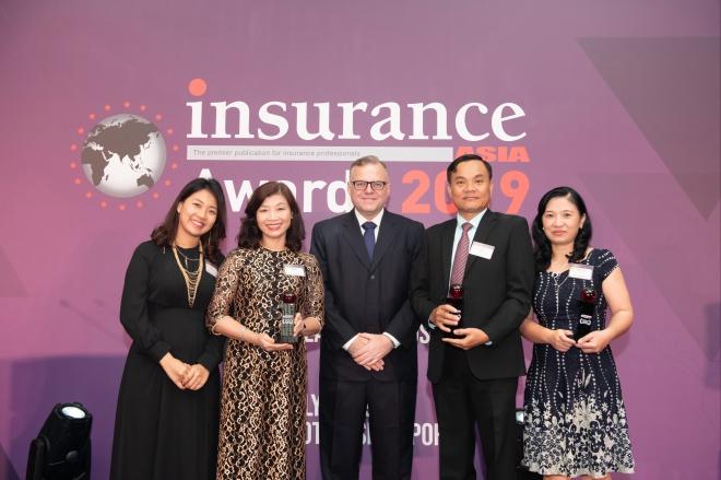 Prudential Việt Nam liên tục đón nhận các giải thưởng quốc tế