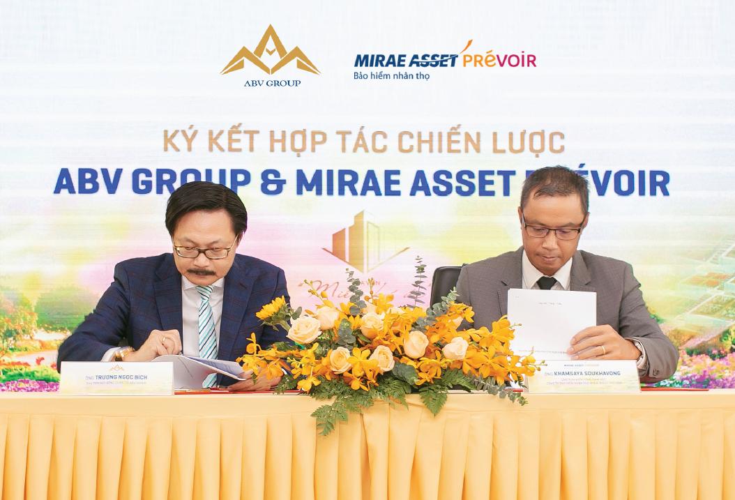 Mirae Asset Prévoir và Ân Bình Viên chính thức hợp tác chiến lược