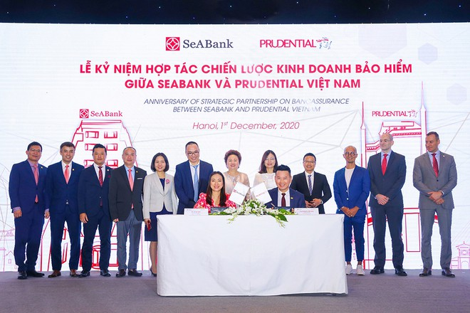 Prudential Việt Nam và SeABank thúc đẩy quan hệ hợp tác chiến lược