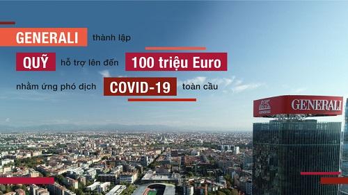 Generali thành lập quỹ hỗ trợ 100 triệu euro để ứng phó dịch Covid-19 toàn cầu