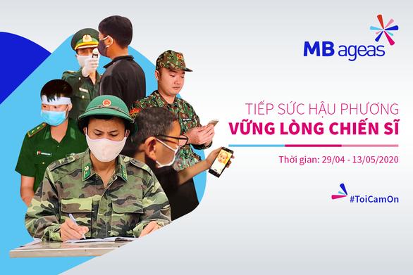 MB Ageas Life gây quỹ ủng hộ 500 triệu đồng cho gia đình chiến sĩ