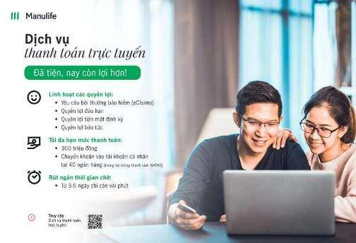 Manulife Việt Nam hiện thực hóa quy trình thanh toán tự động trực tuyến