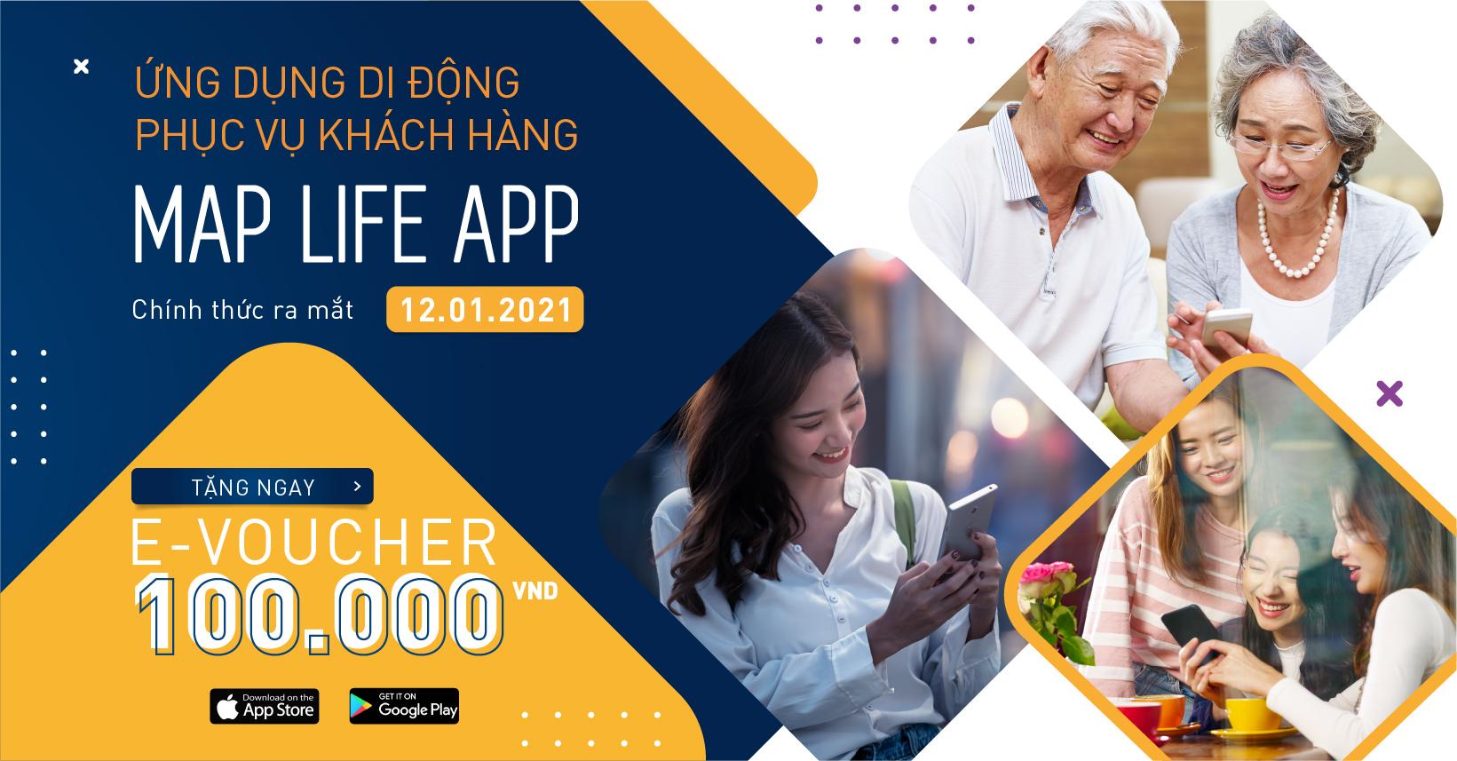 MAP Life ra mắt Ứng dụng di động phục vụ khách hàng