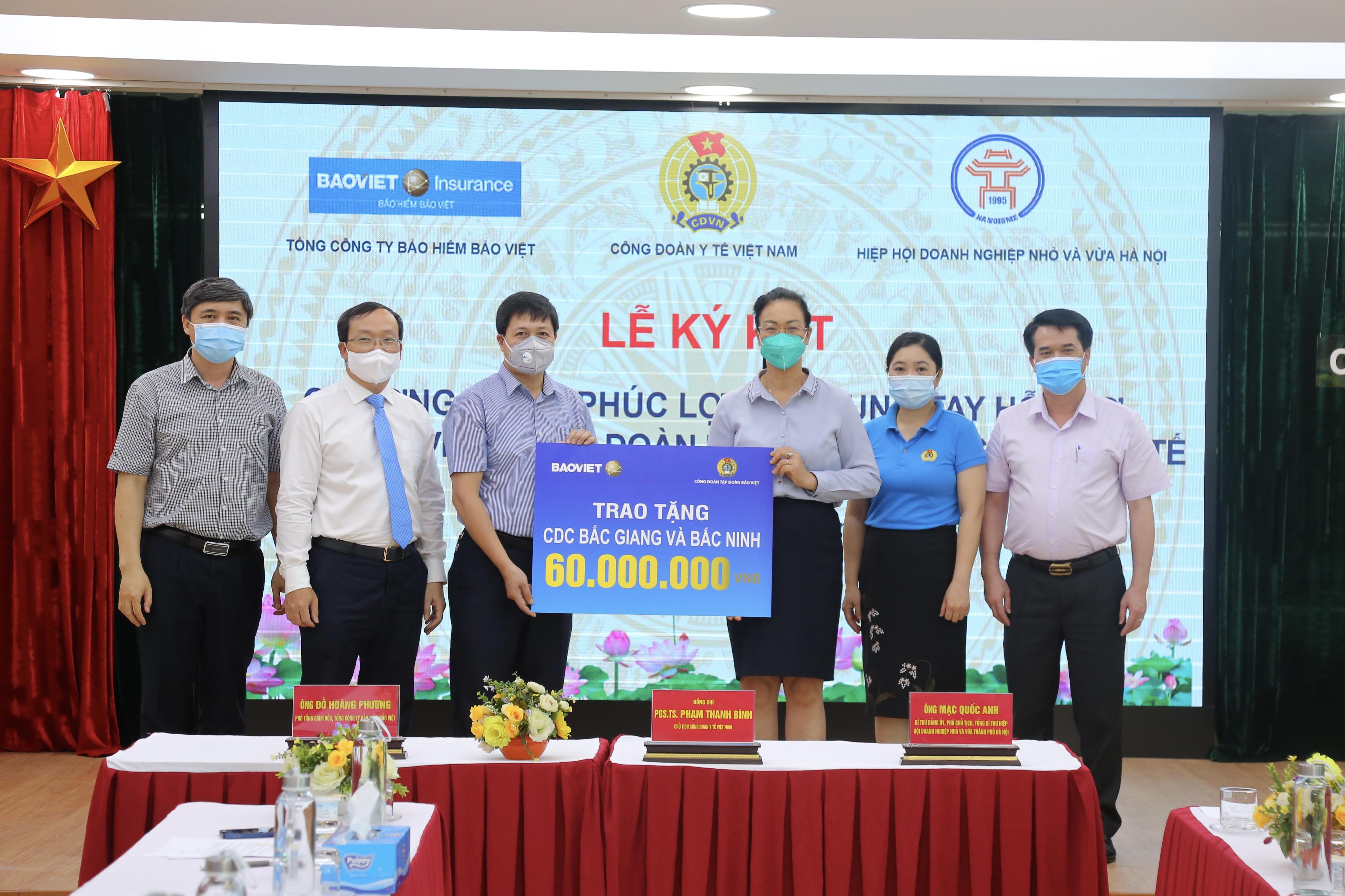 Bảo Việt bảo hiểm cho cán bộ y tế trong giai đoạn phòng chống dịch COVID - 19