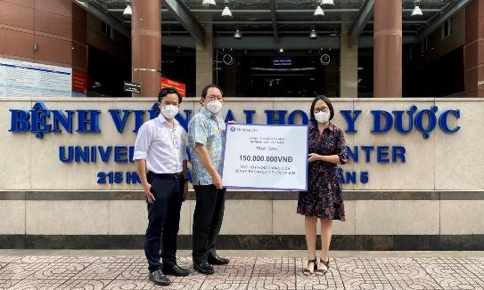 Shinhan Life Việt Nam tiếp sức chống dịch Covid - 19